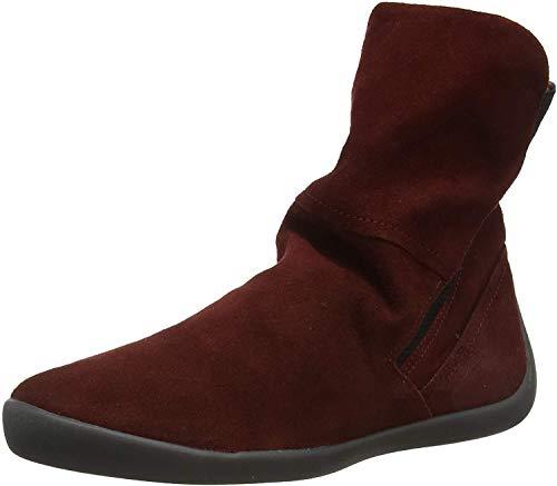 Softinos Damen NIDO552SOF Hohe Stiefel, Rot (Dk. Red 003), 38 EU