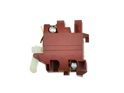 Interruptor de Repuesto, Interruptor para Amoladora Angular - Compatible con 115/125mm Amoladora Angular Bosch GWS 7-125, GWS 10-125, GWS 14-125 C, CI, CIE, PWS 600, PWS 6-115, PWS 6-125