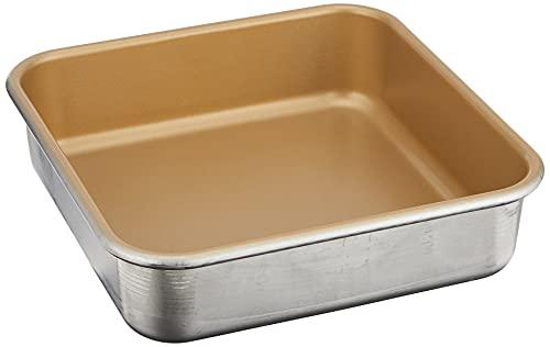 Nordic Ware Naturals Aluminum NonStick 9x9-Inches Square Cake Pan