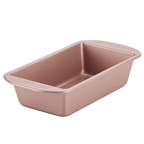 Farberware Nonstick Bakeware Meatloaf/Nonstick Baking Loaf Pan - 9 Inch x 5 Inch, Rose Gold