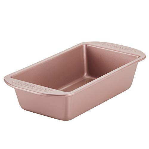 Farberware Nonstick Bakeware Meatloaf/Nonstick Baking Loaf Pan - 9 Inch x 5 Inch, Rose Gold