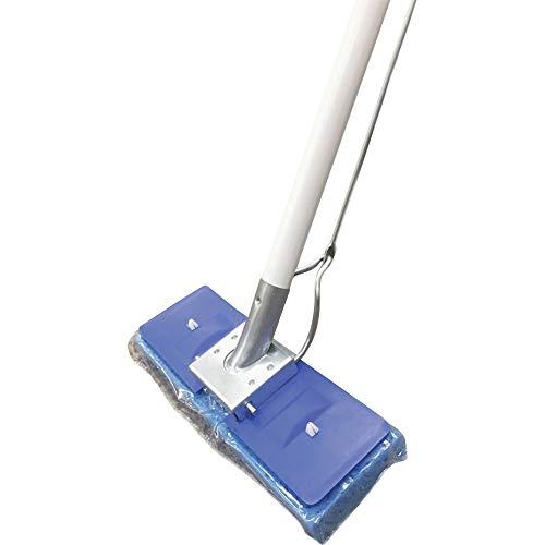 Millers Creek Butterfly Mop - Sponge Head - Scrubber Strip, Squeeze-Action - 1 Each - Blue