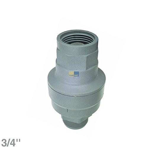 Europart 10005949 Universell Waterblock Aquastop Wasserstopventil Sicherheitsventil Rückschlagventil 3/4