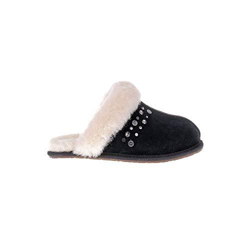 Ugg® Scuffette II Studded Bling Mujer Zapatillas Negro