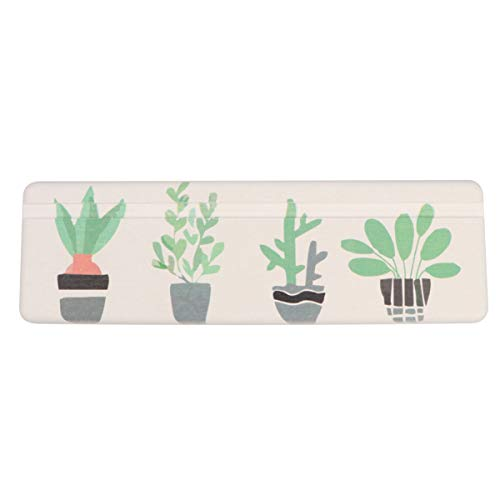 Milisten Diatomite Soap Dish Absorbent Bathroom Toothbrush Holder for Kitchen Quick Drying Cup Mat Made Anti-Slip Soap Holder(Bonsai)