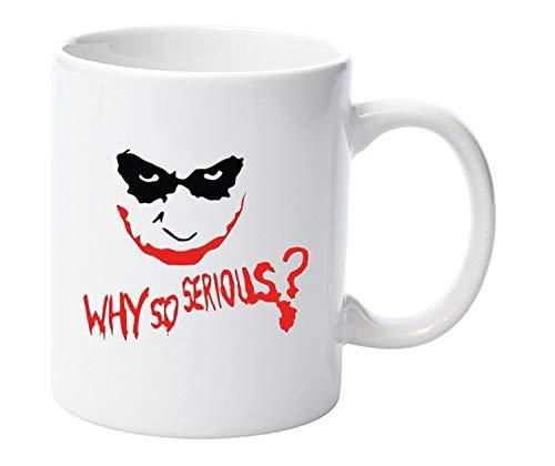 "LBS4ALL Tasse ""Why So Serious"", Joker, Batman, DC Comics, Keramik, 313ml"