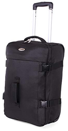 CABIN GO MAX 5595 Trolley Borsone da viaggio con ruote, trolley bagaglio 37 litri grande leggero