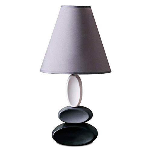 YM963 Caliente Elegante Dormitorio Sala de Estar lámpara de Mesa, lámpara de Escritorio con la Tela de la Cortina Simple lámpara de Mesa de cerámica del Norte de Europa Creativa Americana