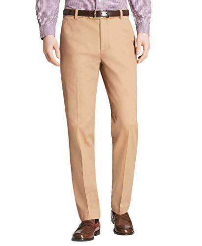 Brooks Brothers Herren Milano Fit Supima Cotton Stretch Chino Pants Tan Beige - Beige - 38W / 32L