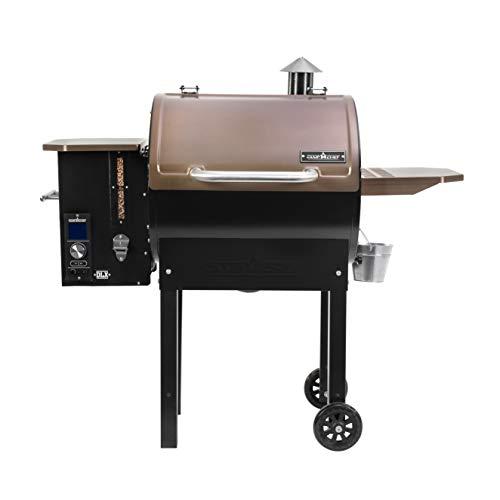 Camp Chef SmokePro DLX Pellet Grill w/New PID Gen 2 Digital Controller - Bronze