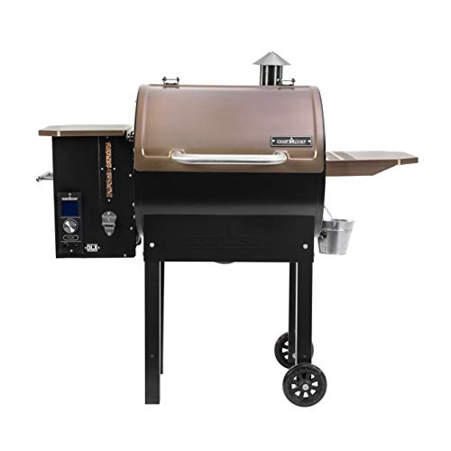 Camp Chef SmokePro DLX Pellet Grill w/New PID Gen 2 Digital Controller - Bronze