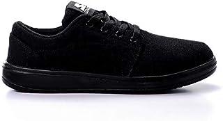 حذاء رياضي للمشي قماش بشعار مختلف اللون للجنسين من ستارتر - اسود، 46