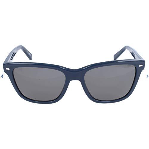 Ermenegildo Zegna Sonnenbrille EZ0002 Occhiali da Sole, Blu (Blau), 57.0 Uomo