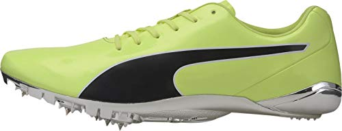 Puma evoSpeed Electric 8 Running Spikes - Yellow-9.5 UK
