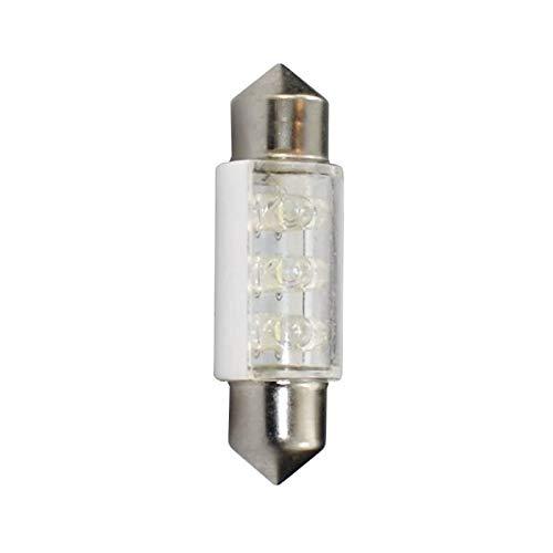 Planet Line PL023W Ampoules LED Navette C5W 12V, Blanc, Set de 2