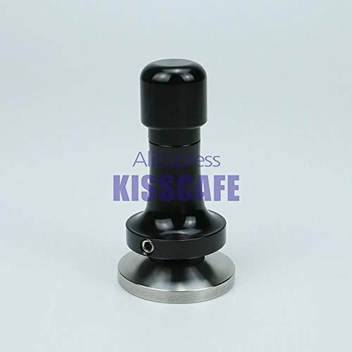 51mm 53mm 57mm 58mm Koffie Tamper Elasticiteit Verstelbaar 304 Roestvrij staal Aluminium Handvat Drukhamer Koffie Accessoires # 10, Phantom, 58.5mm