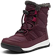 Sorel Youth Whitney II Short Lace Boot for Snow - Waterproof - Epic Plum - Size 3