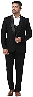 House Of Sensation Latest Coat Pant Designs Black Mens Classic Suits for Wedding Groom Tuxedo Slim Fit Terno Masculino Pro...