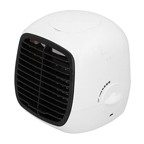 Raffreddatore d'aria, mini condizionatore d'aria bianco per frigorifero per la casa