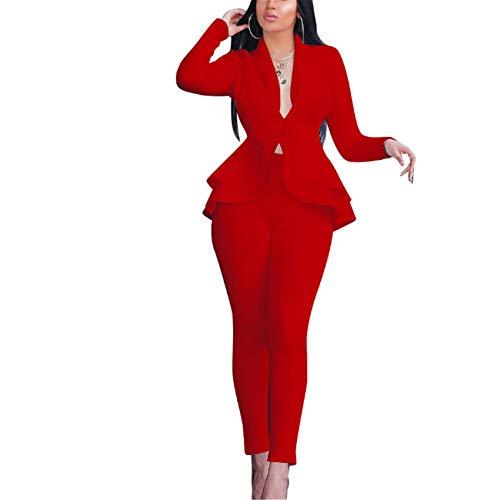 Fashion RüSchen Air Layer Business Wear Uniform Freizeitanzug
