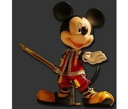Kingdom Hearts II Play Arts Vol.2: King Mickey (Valor Form) by Final Fantasy