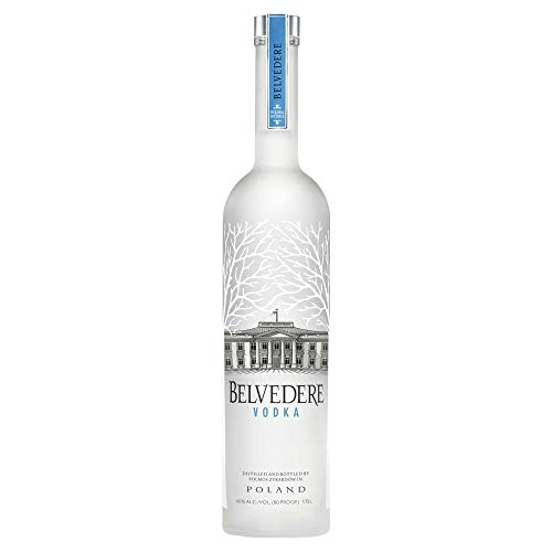 Belvedere Wodka Pure mit LED-Beleuchtung (1 x 3 l)