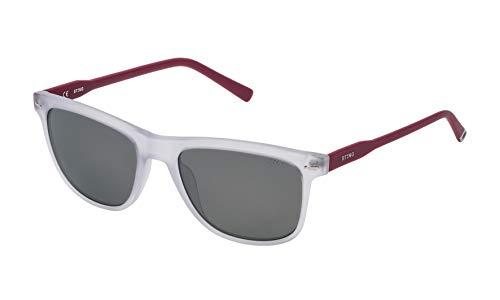 Sting SST00855881X Gafas de Sol, Transparente, 55 para Hombre