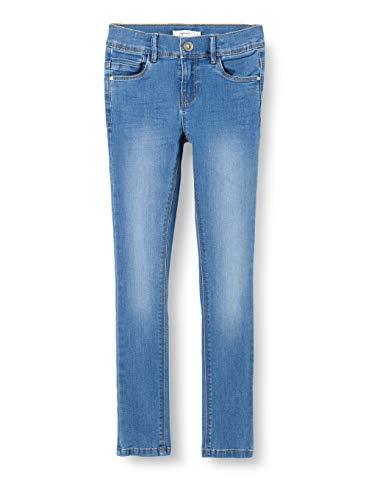 Name IT NOS Girls NKFPOLLY DNMTASIS 2325 Pant NOOS Jeans, Medium Blue Denim, 158