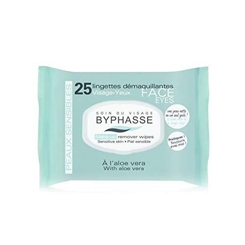 Byphasse - Lingettes Démaquillantes Visage-Yeux - Pour Peaux Sensibles