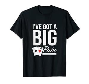 Funny Texas Hold Em Poker Shirts Vegas Casino Gift Men T-Shirt by AO Poker Apparel