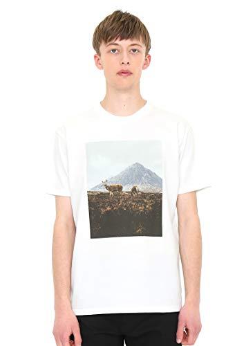 (グラニフ) graniph アーティスト Tシャツ ザ ガーディアンズ オブ ザ グレン ダニエルアルフォード (ホワイト) メンズ レディース L (g100) (g107)