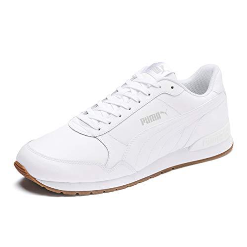 Puma Unisex-Erwachsene ST Runner v2 Full L Sneaker, Weiß White-Gray Violet, 44 EU