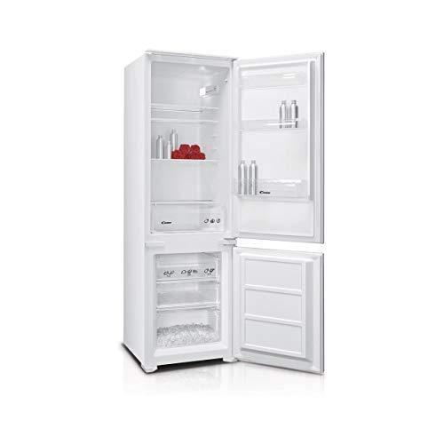 Candy BCBS172HP Frigorifero Combinato ad incasso con congelatore, Statico, Colore Bianco 250 L, Classe energetica A+, 178 x 54cm