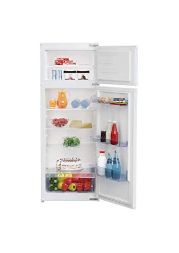 Beko Refrigerador integrado BDSA250K3SN, zona de 0 °C, tecnología de puerta de arrastre, nicho: 145 cm, 37 dB, color blanco