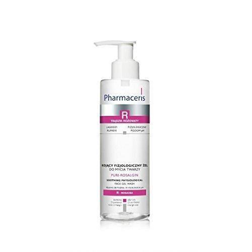 Pharmaceris R - PURI-ROSALGIN visage gel lavage pour Rosacée peau (200 ml)