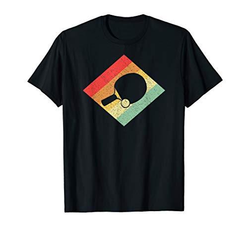 Retro Vintage Tischtennis Geschenk für Tischtennisspieler T-Shirt