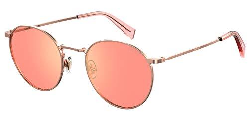 LEVI'S EYEWEAR LV 1005/S Gafas, Gold Copp, 52 Unisex Adulto