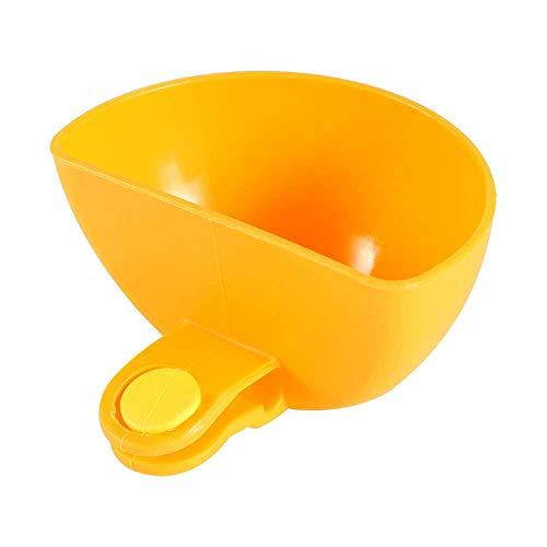 N\C Cocina creativa multiusos puede sostener tazón y plato condimento plato ensalada condimentos caja Snack cuchara cocina Gadget naranja