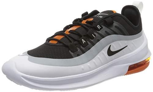 Nike Herren Air Max Axis Sneaker, Schwarz/Schwarz-Weiss-Magma Orange, 43 EU