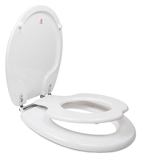 TOPSEAT TinyHiney Potty Round Toilet Seat, Adult/Child,...