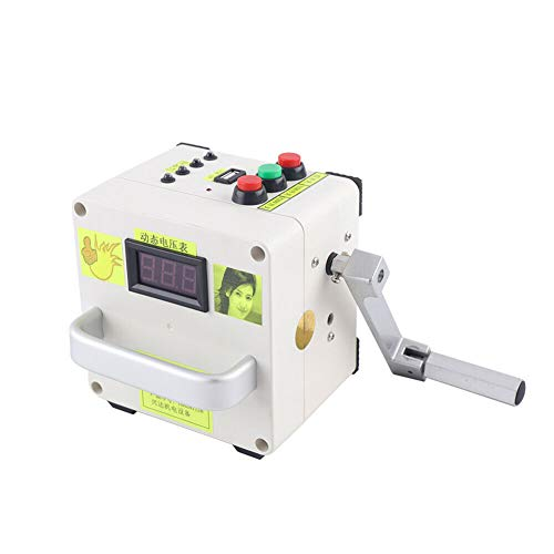 Kleine Handkurbel Generator 220V Tragbare Stromversorgung Notladegerät Outdoor Multifunktions Stromerzeuger Notfall Überlebens Stromversorgung Ladegerät