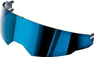 AGV Iridium Blue Internal G2 Sun Visor Scratch-Resistant and UV-B Protected for Horizon, Skyline, Stealth-SV, S4-SV, Numo, K-3 SV, and K5 Helmets