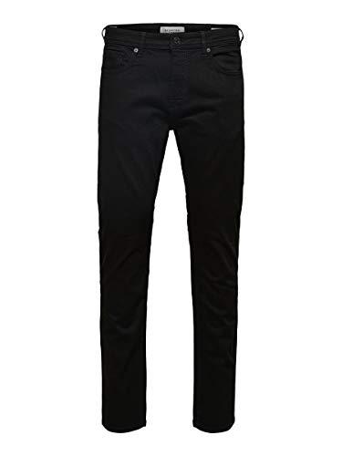SELECTED HOMME Male Slim Fit Jeans 3031-3432Black Denim
