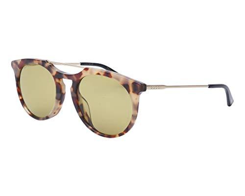 Gucci GG0320S-005-53 Occhiali, Marmor Stil Rosa/Gold, 53.0 Unisex-Adulto