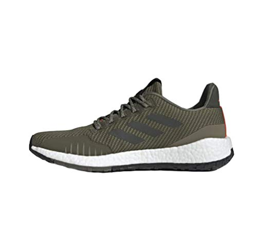adidas Running PulseBOOST HD Invierno Raw Khaki/Legend Earth/Solar Red 9 D (M)