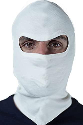 Balaclava Térmica Touca Ninja Mascara Moto Motoqueiro – Branca