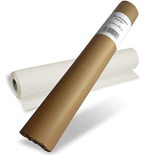POLYTEKT - Skizzenrolle Skizzenpapier 22g 33cm x 50m