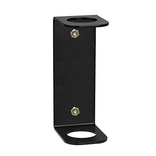 BSWAN Almacenamiento de pesas, soporte vertical de pared, soporte olímpico, soporte para barras individuales, hecho de metal resistente y duradero.