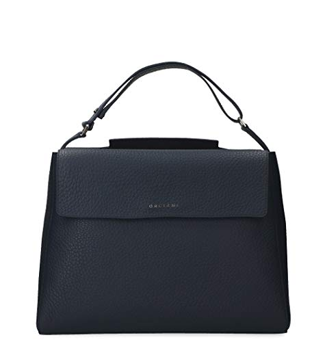 Orciani Luxury Fashion Donna B01979SOFTNAVY Blu Pelle Borsa A Mano | Primavera-estate 20