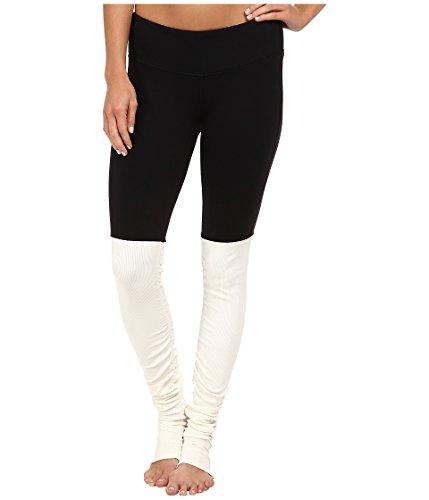 Alo Yoga Women's Goddess Legging Pants, Black/Natural, XXS